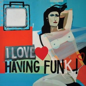 Sabina Twardowska, 'I love having funk', 100x100 cm, oil on canvas, 2012