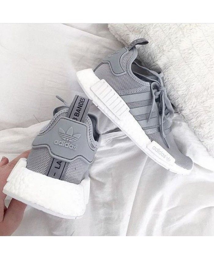 a346aff23 Cheap Adidas NMD Grey with Reflective Stripes Sale Clearance