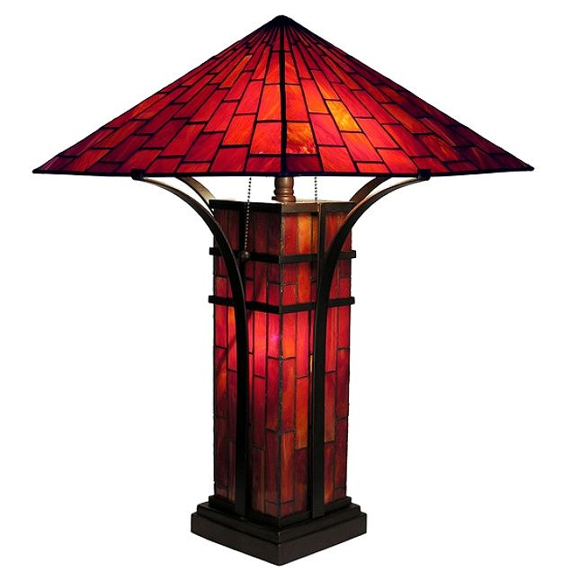 47 Best Lamps Craftsman Stained Glass Images On Pinterest