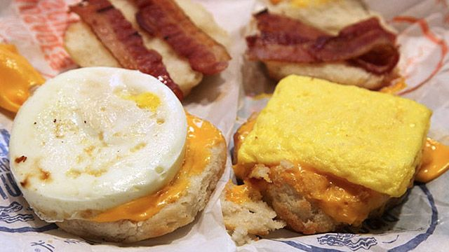 Get a Real Egg on Any McDonalds Breakfast Sandwich and maybe impress your dad the next time he visits