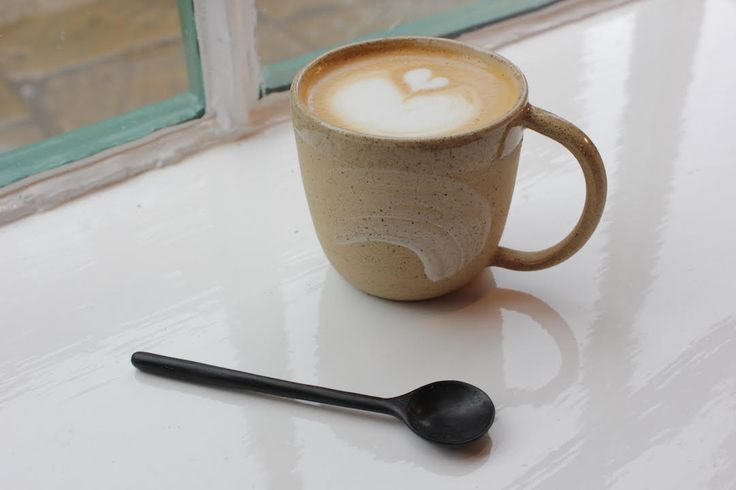 Coffee cup for Kiosk Project Space by Pottery West