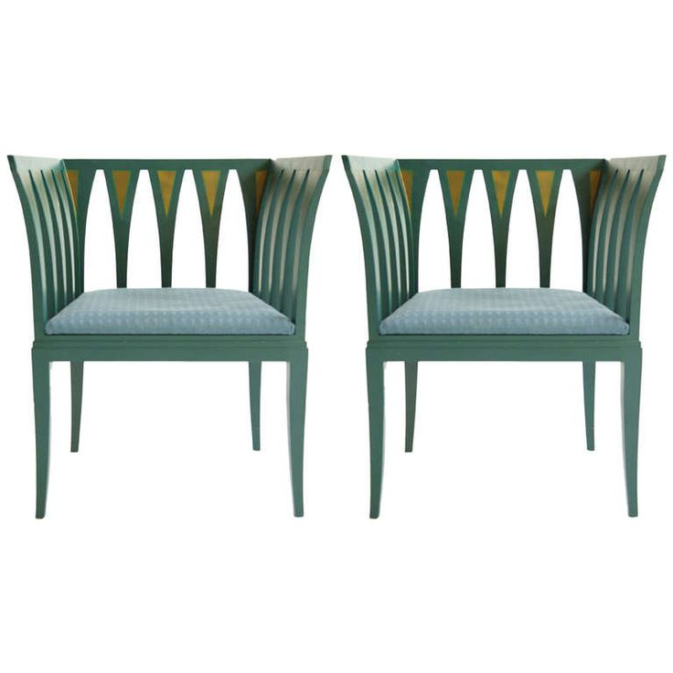 Pair of Eliel Saarinen Armchairs | From a unique collection of antique and modern armchairs at https://www.1stdibs.com/furniture/seating/armchairs/