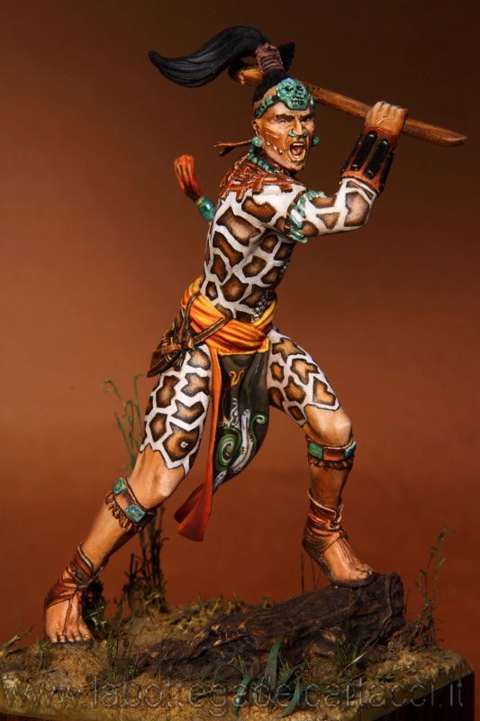 Maya Warrior | planetFigure | Miniatures