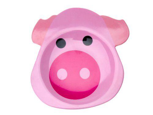 J I P Melamine Breakfast Plate Funny Pig Funny Pigs