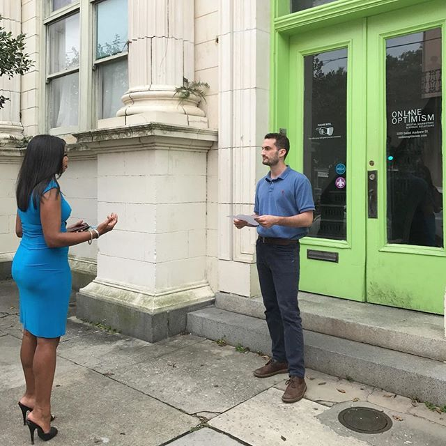 """""""Catch our Search and Content Director, Sam Olmsted, on @wdsu6 tonight at 10pm talking about how recent flooding affects marketing and tourism 🎥💚"""" by @online.optimism. #success #empreendedorismo #smallbusiness #networking #hustle #businesswoman #entrepreneurs #successquotes #publicidad #brand #businessman #business #entrepreneur #advertising #entrepreneurship #webdesign #smallbiz #tech #facebook #beawesome #bebold #getcreative #winterfun #inspired #semplicity #social #socialmarketing…"""