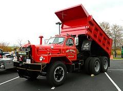vintage Mack dump truck