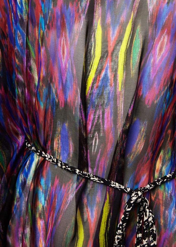 Sweetie Ragadang Rainbow Silk Kaftan - Tops - Matthew Williamson