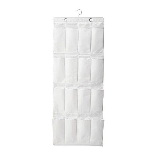 SKUBB Zapatero colgante 16 compart IKEA En los 16 bolsillos  poner plantas Ancho: 55 cm fondo: 7 cm Altura: 150 cm  € 6,99