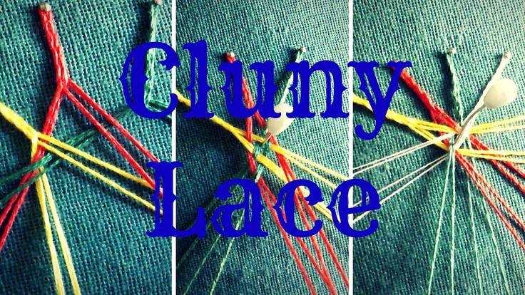 3 difficili incroci del merletto di Cluny