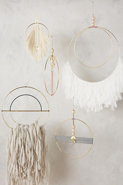 Fringed Wall Art #anthrofave #anthroregistry