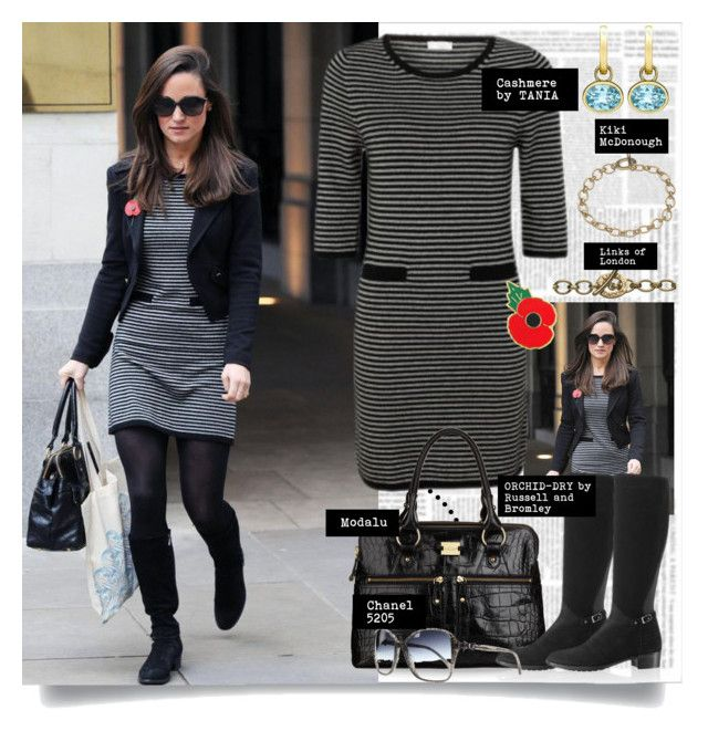 Pippa Middleton Otoño en Londres - Noviembre 6, 2012 by presidente1 on Polyvore featuring polyvore, fashion, style, Links of London, Pippa, Chanel and clothing