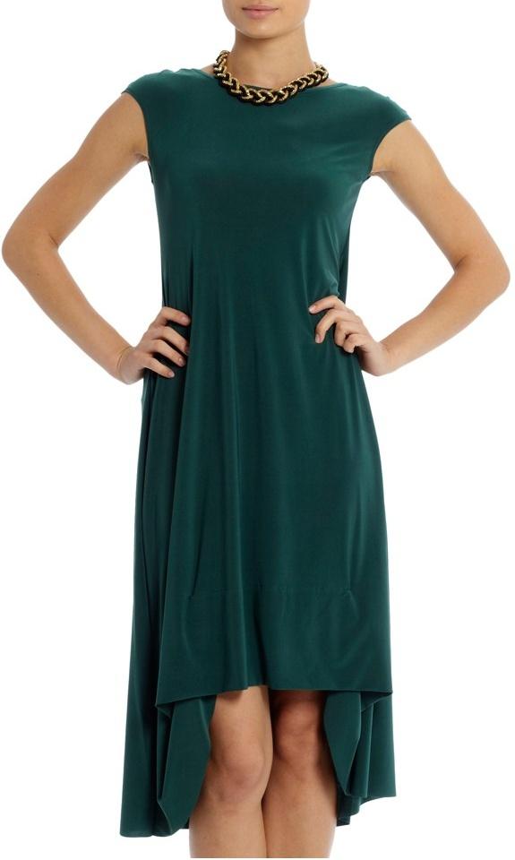 Dress by Tiaan Nagel. Proudly South African! http://koop.sarie.com/tessas-sleeprok-groen