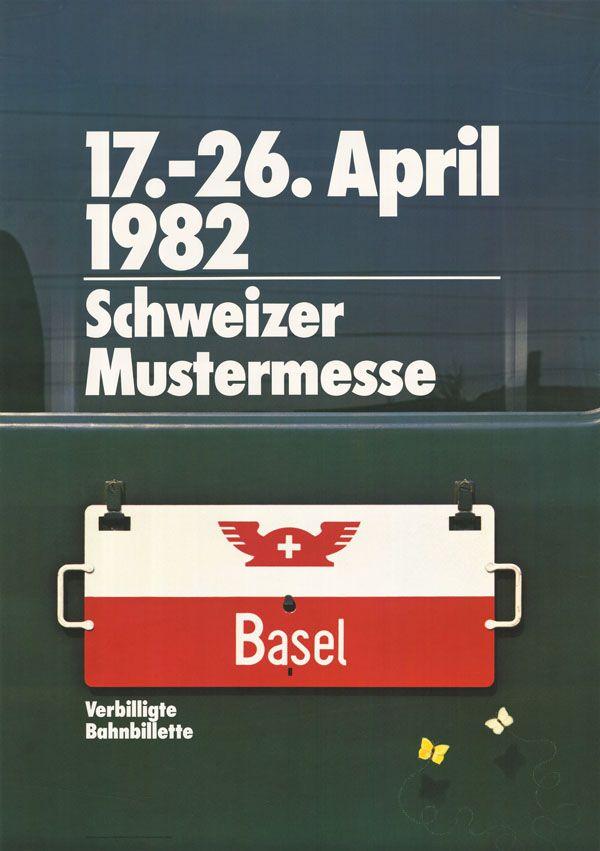 At. Humbert + Vogt Studios, Schweizer Mustermesse Basel, 1982