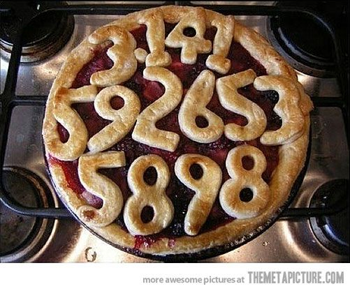 The Pi Pie (might have to do this for the next Pi Day) ;p