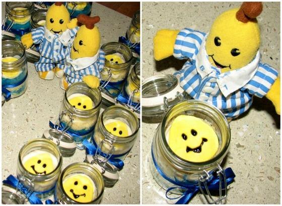 Bananas In Pyjamas Cupcake In A Jar!