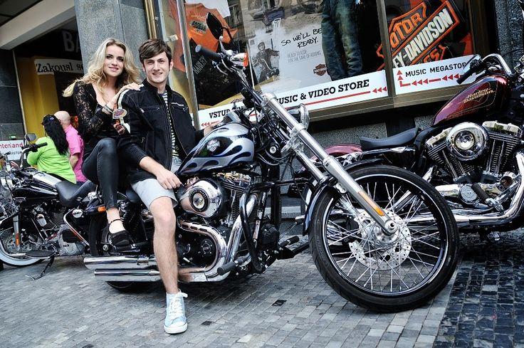 Harley Davidson a Miss&Mister Deaf v Bontonland Megastore #guncikova