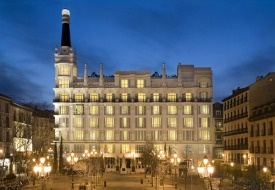 $149+: Trendy ME Madrid Hotel Offers Exclusive ShermansTravel Deal:  Set at the epicenter of Spain's capital city on the lively, cafe-lined Plaza de Santa Ana, hip hotel ME Madrid Reina Victoria