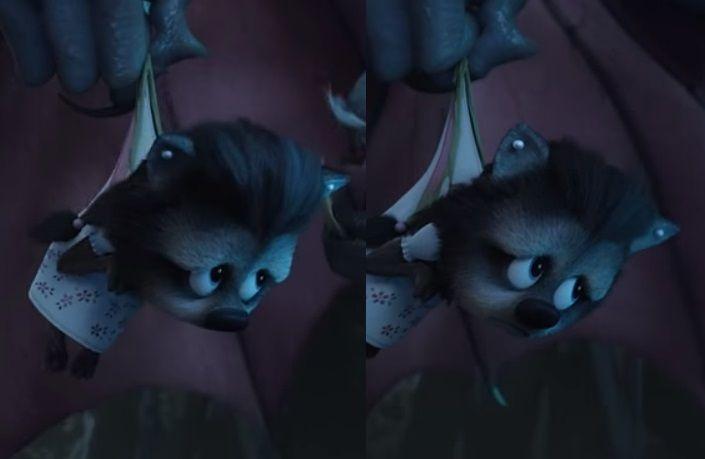 Bela Holding Winnie Hostage Hotel Transylvania 2 Halloween Face