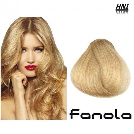 Vopsea de par blond platinat Fanola 10.0