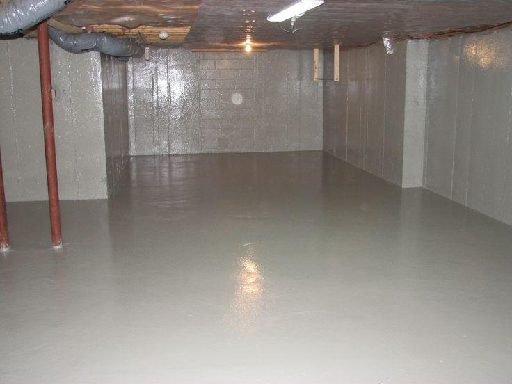 moisture vapor radon mitigation basement waterproofing basement