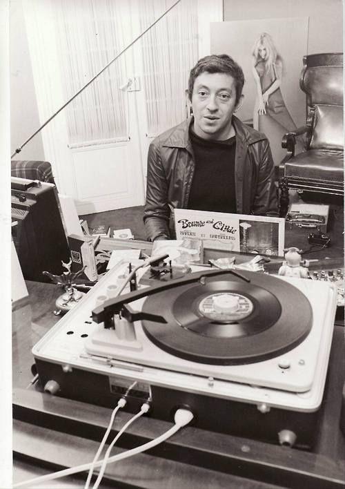 """""""people-vinyl: Serge Gainsbourg Merci jpsx ! """""""
