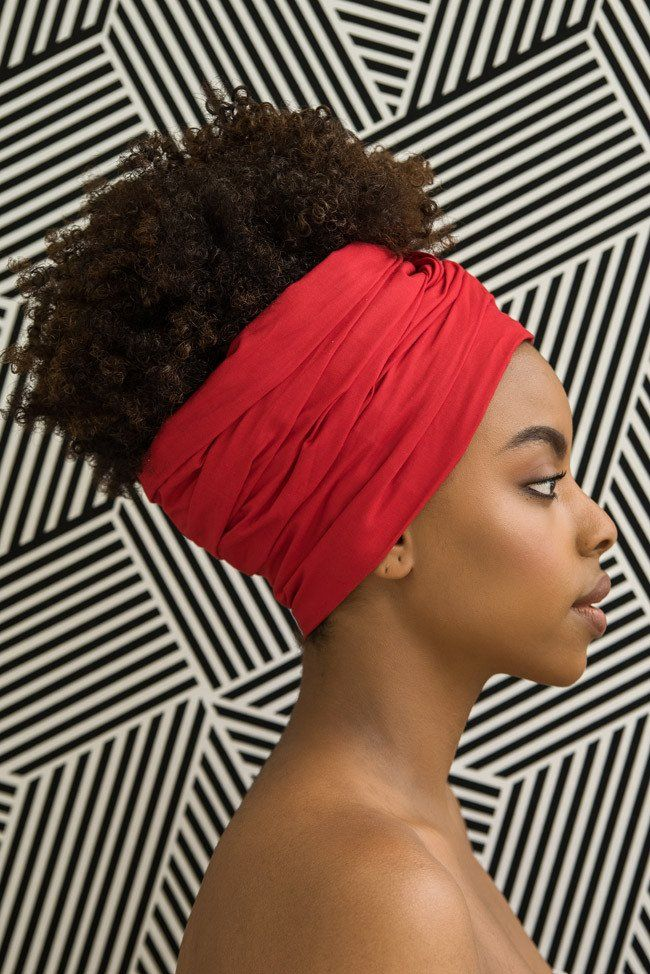 Ruby Woo Head Wrap - $24; This is not really alternative style so much as a classic African style that wouldn't be considered part of mainstream fashion here in the U.S. And we know why that is...