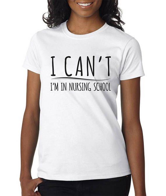 Nursing School Nurse Gift Shirt For Student Birthday Nurses