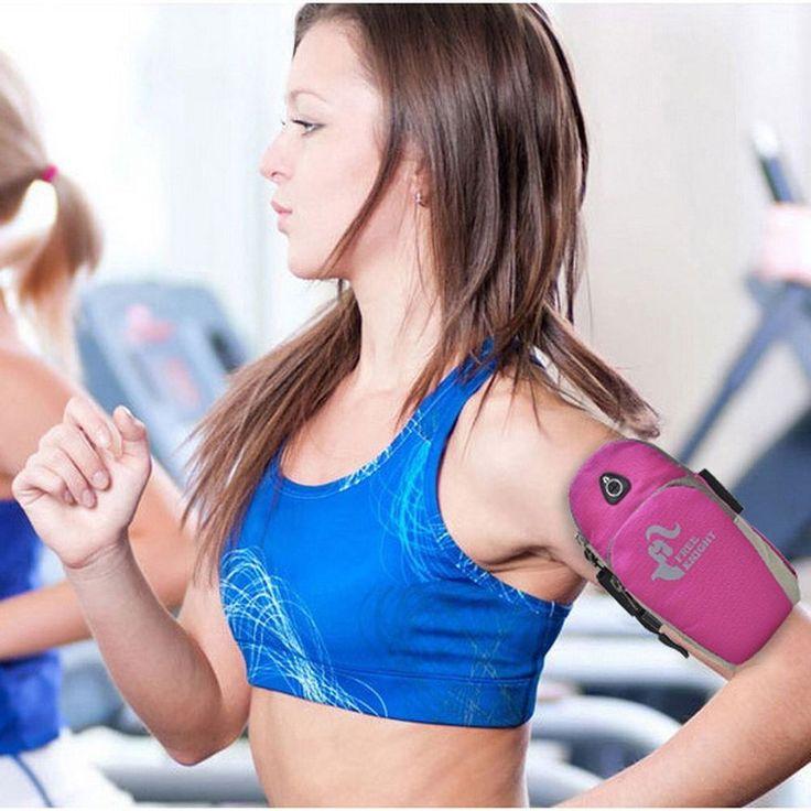 Sports Running Jogging Gym Armband Arm Band Holder Bag For Mobile Phones JL