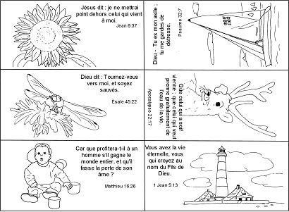 Mémory de versets à imprimer sur Biblenfant