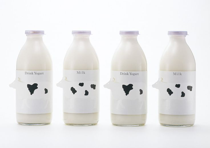 i love how they added the cows on front of the bottle.