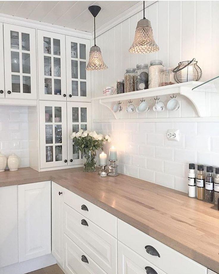 Wunderbar Cremefarbenen Küchenwände Ideen - Küchenschrank Ideen ...