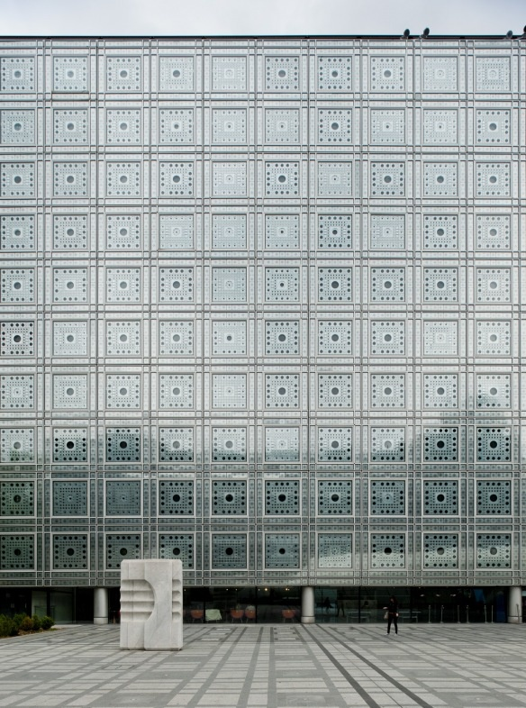 Arab World Institute - Jean Nouvel, Architect