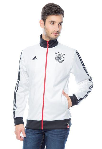 Me encanta! Miralo! Chaqueta adidas DFB TRK TOP Alemania Blanco  de Adidas en Dafiti