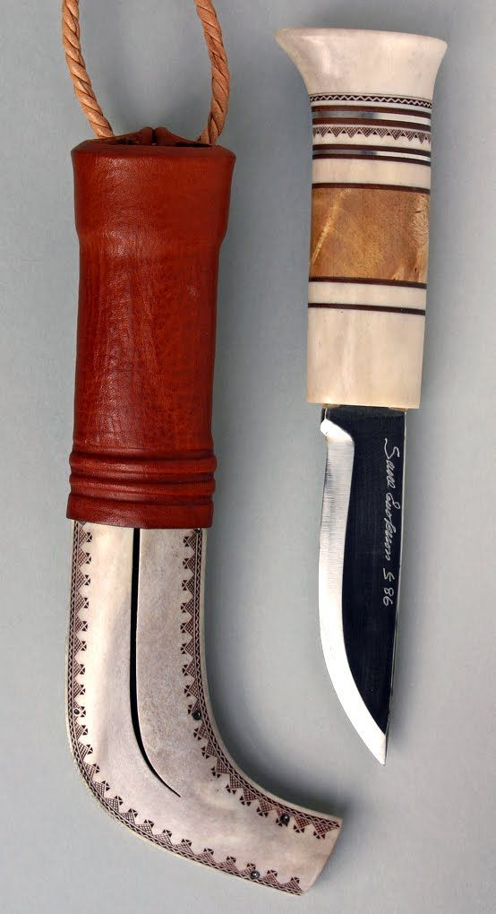 Sami knife (niibi) by Sune Enoksson. Beautiful!