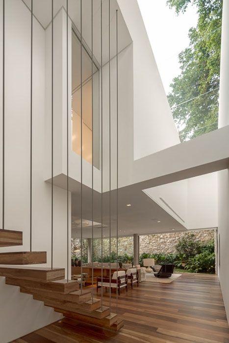 That staircase is amazing! STUDIO ARTHUR CASAS