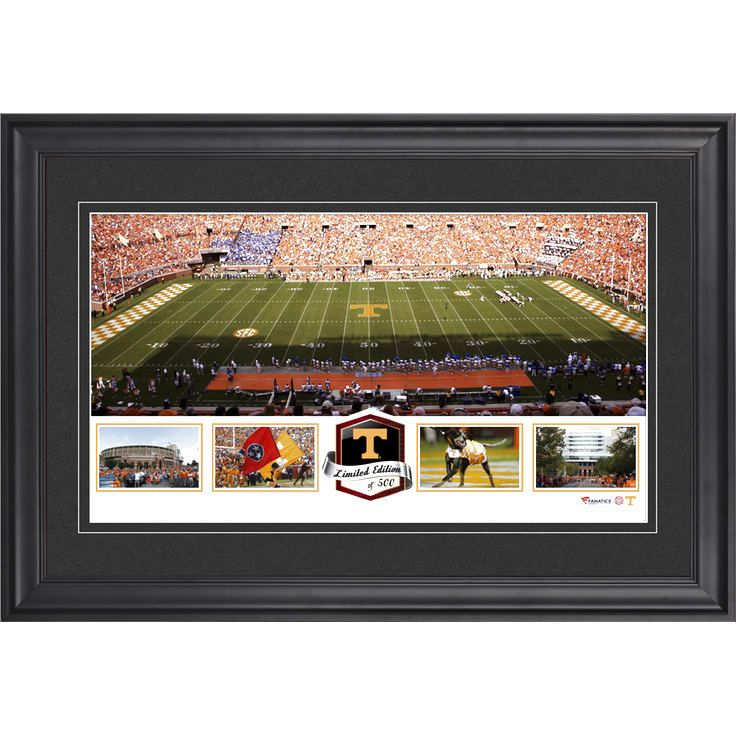 Tennessee Volunteers Fanatics Authentic Framed Neyland Stadium Panoramic Collage-Limited Edition of 500 - $63.99