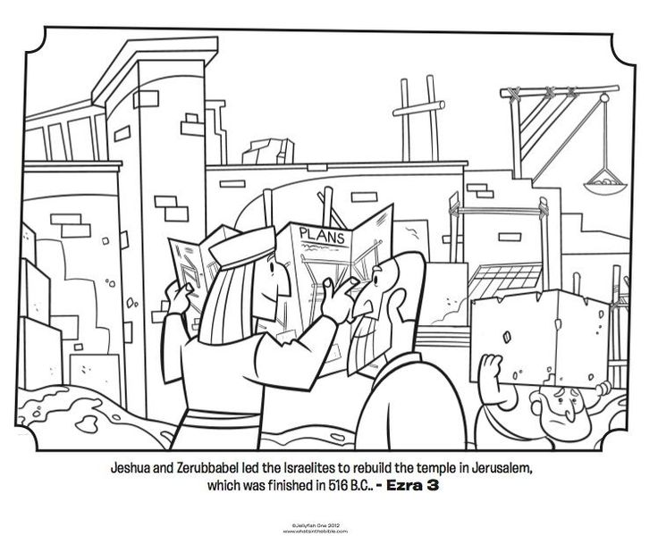 Image result for free coloring pages of Jews returning to