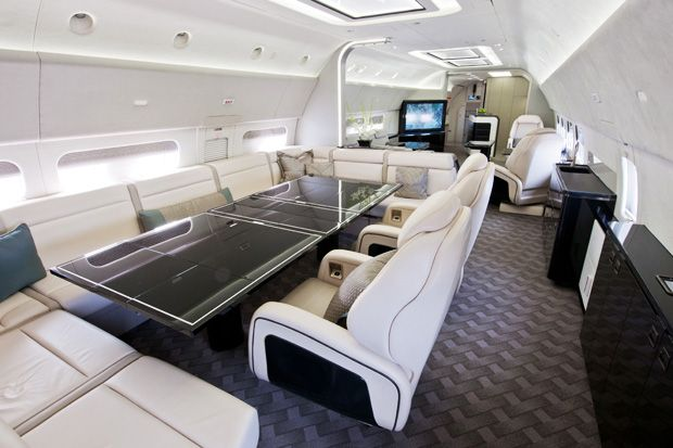 Boeing Business Jets – Neues Luxus Interieur Design