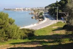 B349 - Corner seaside land parcel of 12000 sqm in Kalamos Attica. 50 minutes from the airport and city of Athens