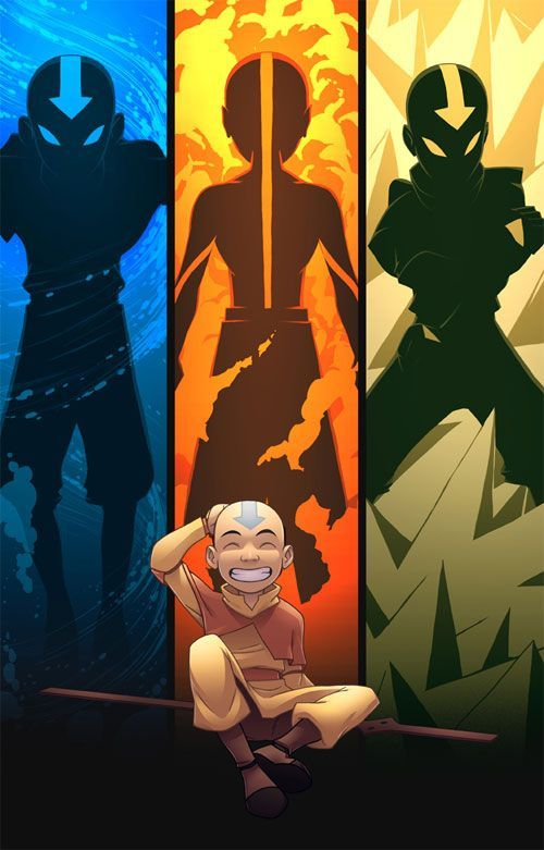 Aang (from Avatar: The Last Airbender) is a good example of a hero. No matter what he is faced with he tries his best to always be doing the more morally correct thing. He always is trying to spare lives, even those who are bad.: