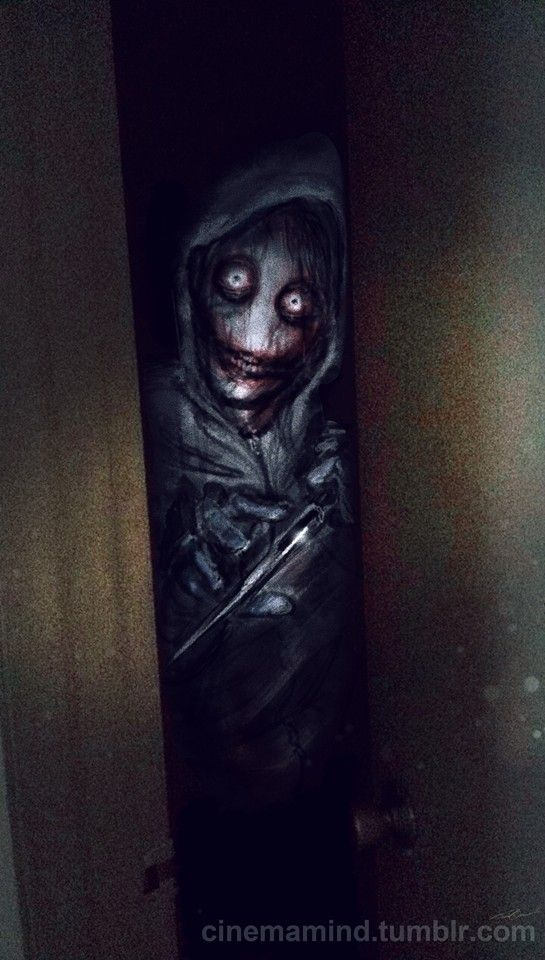 Some people say Jeff The Killer can't be creepy but this is scary as hell...