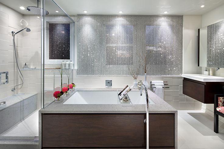 15 best viatera bathrooms images on pinterest quartz countertops master bathroom and modern for Are quartz countertops good for bathrooms