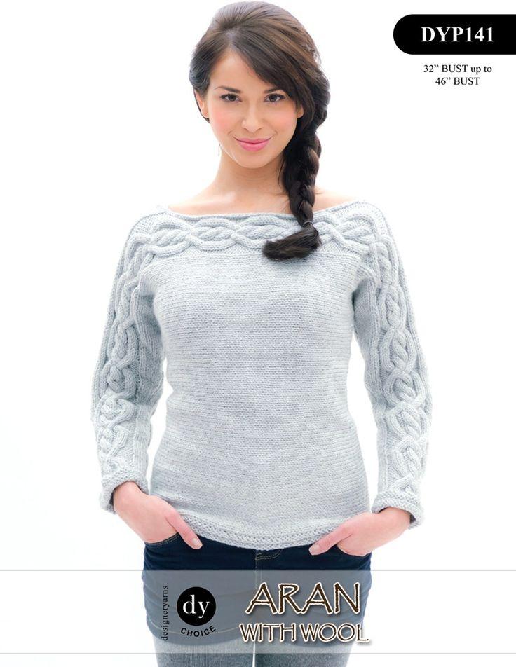 Las mejores 115 imágenes de Aran knitting en Pinterest | Patrones de ...