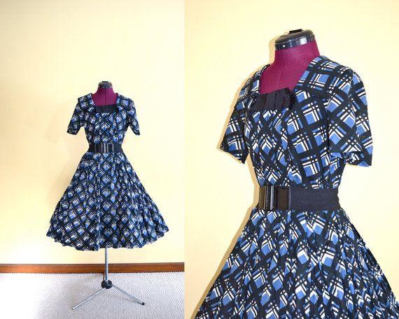 1950s Vintage Rembrandt Full Circle Skirt by TabbysVintageShop, $125.00