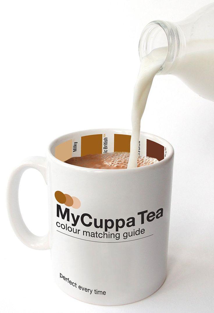 Tea Mug - Color Matching Guide