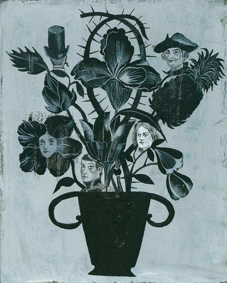 Olaf Hajek. Flowers.