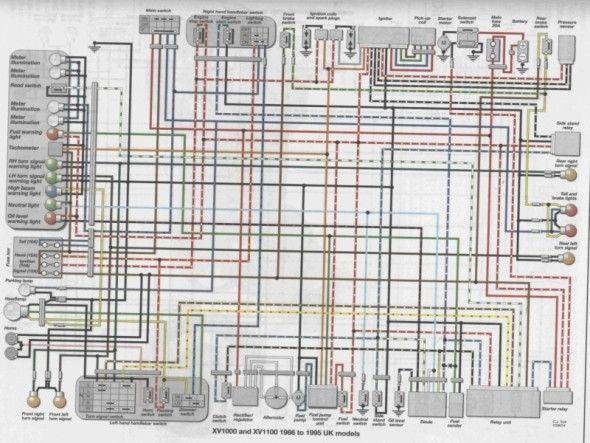 virago wiring diagram  yamaha virago diagram yamaha