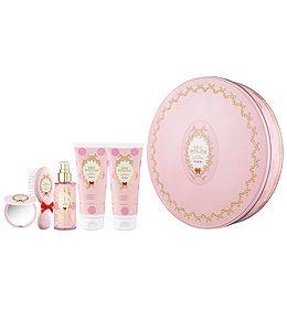 MISS PRINCESS KIT XL - ароматическая душ Молоко + Ароматизированный лосьон + туалетная вода + щетка + компактное зеркало