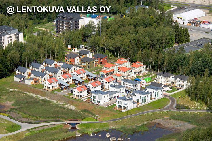 Asuntomessualuetta Ilmakuva: Lentokuva Vallas Oy