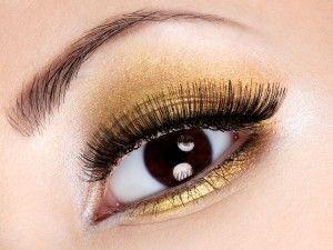 www.specchioedintorni.it gold make-up eyes